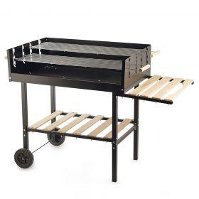 Barbecue ripiani in legno