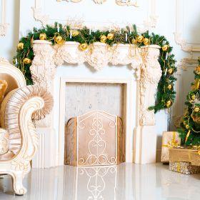 Festone natalizio l. 270 cm