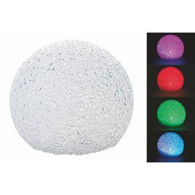 Palla led cambio colore 15 cm