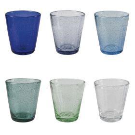Shades Ocean Set 6 bicchieri acqua 300 ml