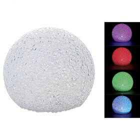 Palla led cambio colore 8 cm
