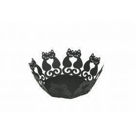 Black Cat Cestino nero