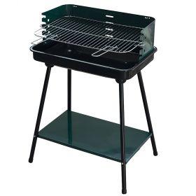 Barbecue rettangolare verde