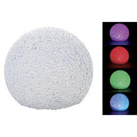 Palla led cambio colore 12 cm