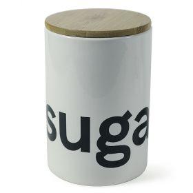 Bamboo Barattolo zucchero