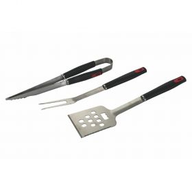Set 3 utensili barbecue