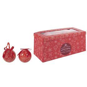 Set 14 palle natalizie 7,5 cm