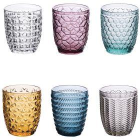 Geometrie Set 6 bicchieri acqua 300 ml