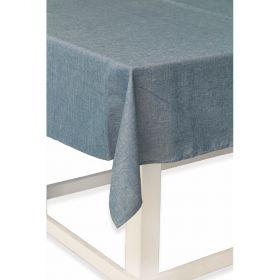 Solid Tovaglia 12 posti tavola blu 140x240 cm
