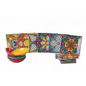 Riviera Maya Servizio tavola 18 pezzi
