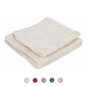 Set 2 asciugamani viso e ospite