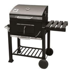 Barbecue 2 ruote e coperchio 116X56X109 cm