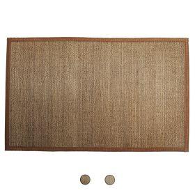Tappeto bamboo intrecciato 55x110 cm