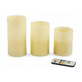 Set 3 candele led